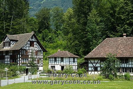Photo Of Traditional Swiss Houses Freilicht Ballenberg